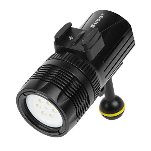 IPOTCH-Torcia-Subacquea-Di-Immersione-Subacquea-Della-Luce-LED-Di-Fotografia-Subacquea-Di-60-Tester-Per-GoPro