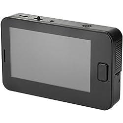 """GPHTECH Judas numérique avec écran LCD TFT de 4,3"""", grand angle, vision nocturne et sonnette de sécurité"""