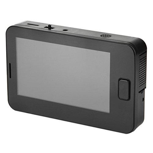 GPHTECH 10,92 cm pantalla LCD digital mirilla amplio ángulo de visión nocturna cámara, 10,92 cm espectador de la puerta timbre seguridad cámara