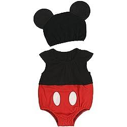 Pelele Bebés Niños Disfraz Animal YIZYIF Mameluco con Gorros para Bebé Niñas 0-9 Meses Tipo B 6-9 Meses