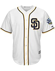 Padres de San Diego Majestic Cool Base MLB Jersey Home/W 2016 All-Star Game Patch