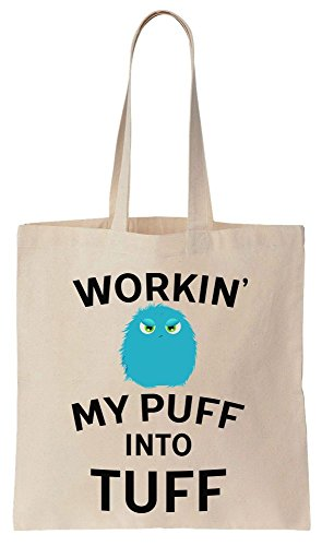 Tuff Cute Little Fuzz Cotton Canvas Tote Bag Baumwollsegeltuch-Einkaufstasche (Pokemon Furry)
