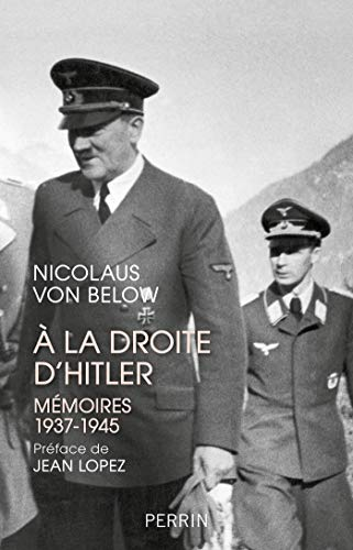 A la droite d'Hitler par  Perrin