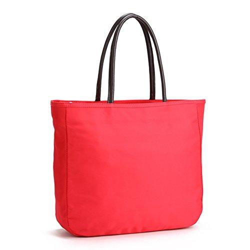 Semplice versatile Oxford nylon impermeabile sacchetto di tela/borsa a tracolla Tote-R R