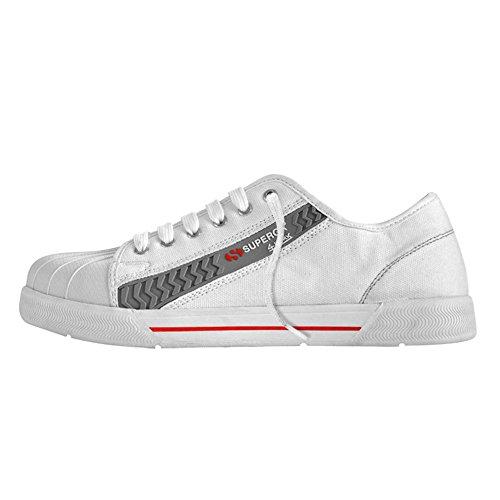 Superga Sneaker Sicherheitsschuhe S1 Weiß 4Work 138004 44