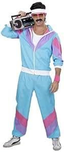 Widmann 98871 Kostüm, Mehrfarbig(blau/lila/rosa), S