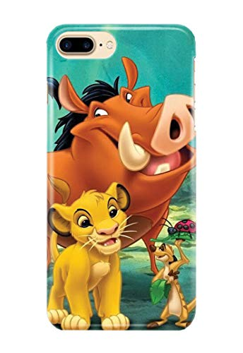 d9af72b994c Case Me Up Funda para iPhone 7 [Plus] Lion King Simba Mufasa Scar Timon