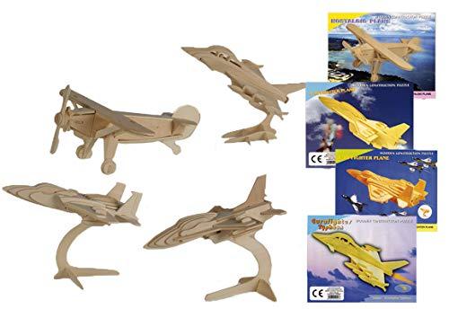 turholz 3D Puzzle Flugzeuge Holz Puzzle Zum Basteln Und Konstruieren 47 ()