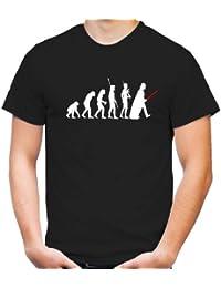 Evolution Darth Vader T-Shirt | Star Wars | Yoda | Science Fiction | Vader | Darth | Imperium | Crossing | Kult
