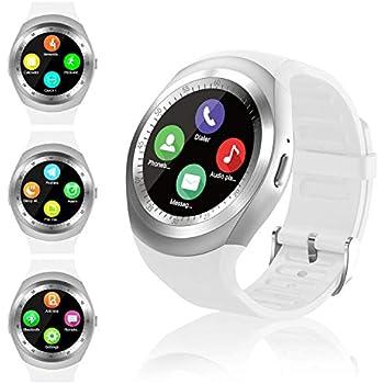Smartwatch, Reloj Inteligente con Ranura para Tarjeta SIM Pulsera Actividad Inteligente, Reloj Iinteligente Mujer Hombre niña niño para Xiaomi Redmi ...