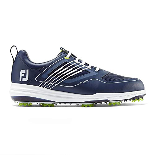 Footjoy Herren Fury Golfschuhe, Blau (Azul Navy/Blanco 51101m), 44 EU (Sport Golf Schuhe Footjoy 10)
