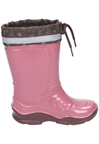 Pferdefreunde Maedchen Gummistiefel rosa, 130082-4 Rose