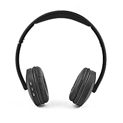 Ambrane Ultra Comfortable Wireless Bluetooth Headphones WH-5600 With Mic(Black)