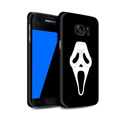 On Hülle/Case für Samsung Galaxy S7/G930 / Scream Maske Inspiriert Kunst Muster/Grusel Filmkunst Kollektion ()
