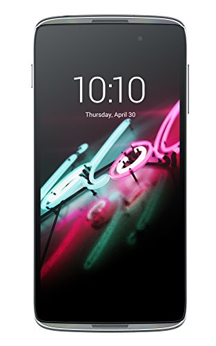Alcatel Onetouch Idol 3 Smartphone (11.9cm (4,7 Zoll) IPS HD Display 1280x720 Pixel Quad Core Prozessor 1,2GHz, Dual-SIM, 16GB) Android 5.0, dark grey