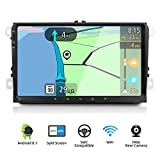 YUNTX Android 8.1 Double Din Car Stereo Fit for VW Golf/Skoda/Seat - 9