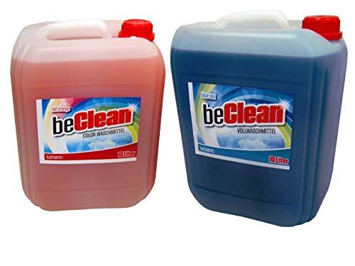 Red Orange 10 Liter Colorwaschmittel und Blue Sea 10 Liter Vollwaschmittel