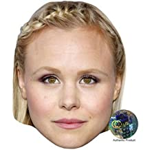 Alison Pill Celebrity Mask, Card Face and Fancy Dress Mask