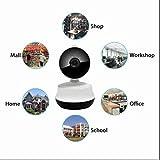 Ip kamera 720P Heim überwachungskamera 2 Wege Audio zum Gegensprechen,Bewegungserkennung Aufnahme,True Color Display,Remote PTZ Steuerung,Megapixel ip kamera,24 Stunden Überwachung bei Tag und Nacht