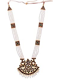 Preethi Gold Plated Gold Metal Chain Necklace For Women (Preethi_36)