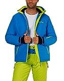 Fifty Five Jamie Herren Skijacke Snowboardjacke Blau Grün M Wasserdicht Atmungsaktiv