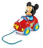 Disney 17208 Clementoni-17208-Disney Baby Mickey Nachziehauto, Mehrfarbig