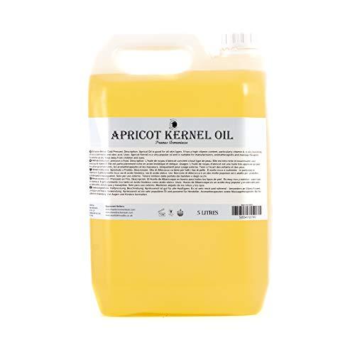 Mystic Moments L'Huile de Noyau d'Abricot - 5 Litres - 100% Pur