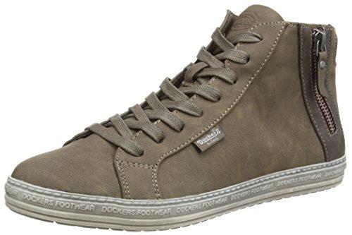 Dockers 32LN213, Sneaker alta donna, Grigio (Grau (taupe 430)), 39