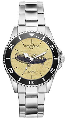 Geschenk für Zeppelin Fan Fahrer Kiesenberg Uhr 20458