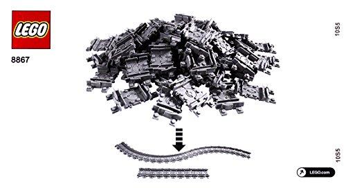 Lego City Train Set ferroviarie Flexible 8867 (Giappone import / Il pacchetto e il manuale sono scritte in giapponese)