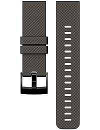 Suunto Traverse Graphite Silicone Strap - Correa de silicona, color gris