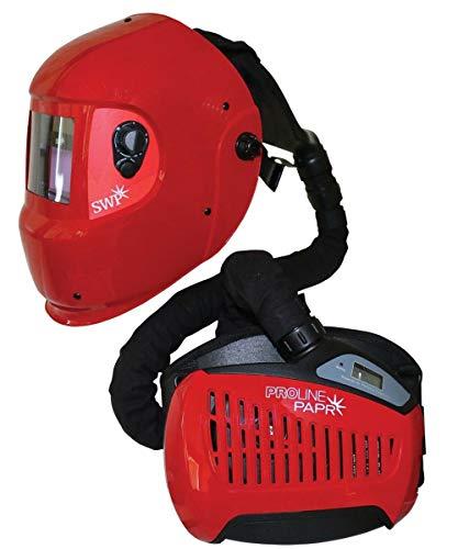 Papr-system (SWP Schweißmaske mit Luftzufuhr, PAPR System - Schleiffunktion wiederaufladbar)