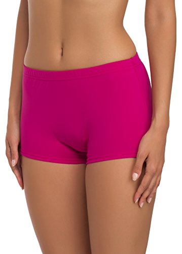 Merry Style Shorts Bañadores Deportivos Trajes de Baño Mujer Modelo L23L1 (Rosa (4140), 40)