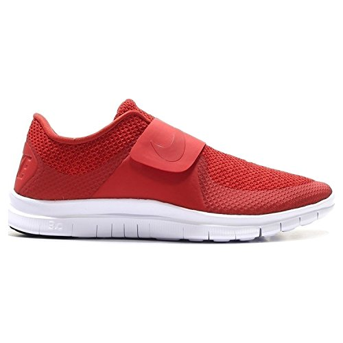Nike Free Socfly, Chaussures de Running Compétition Homme Multicolore - Rojo / Blanco  (Unvrsty Rd/Unvrsty Rd-Wht-Blck)
