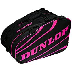 Dunlop Competición Bolsa Deporte Paletero, Unisex Adulto, Fucsia, L