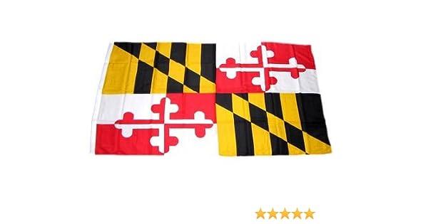 Flagge Fahne USA Maryland Hissflagge 90 x 150 cm