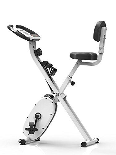 SportPlus X-Bike Evolution Heimtrainer, Weiß, One Size