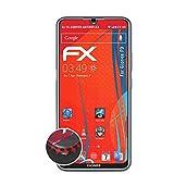 atFolix Schutzfolie passend für Gionee F9 Folie, entspiegelnde & Flexible FX Bildschirmschutzfolie (3X)