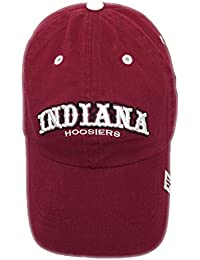 timeless design 0efa3 608f1 NCAA Indiana Hoosiers Slouch Burgundy Hat Cap NWT Adjustable Strap