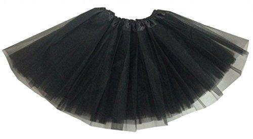 Erwachsene/Frauen Ballett Tutu Layered Organza Lace Mini Rock