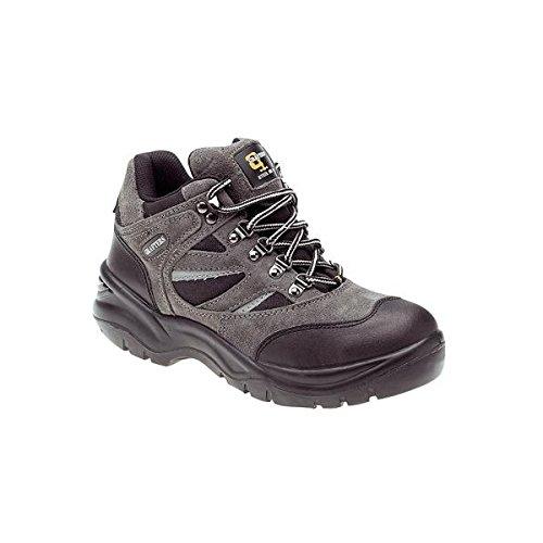 Grafters , Herren Sicherheitsschuhe, - Dark Grey/Black - Größe: 9 UK Dark Grey/Black