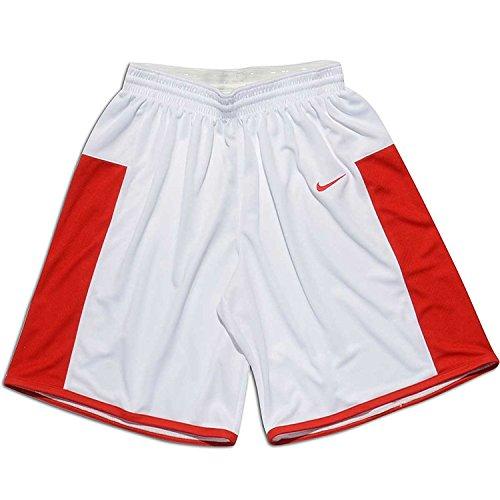 Nike Team Enferno basketball shorts Bianco/scarlet