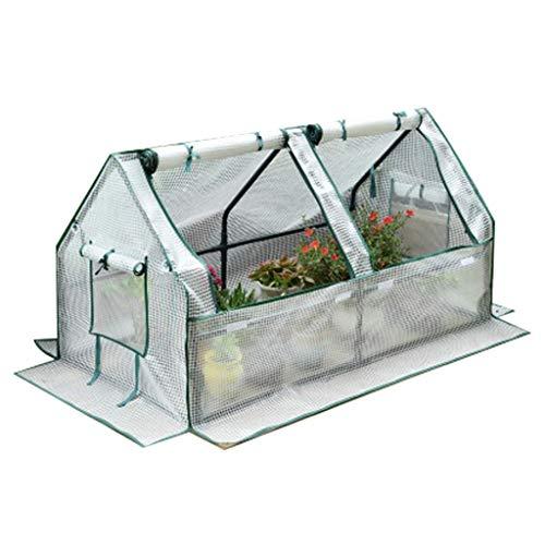 Miniserre serra da giardino balcone grande serra per giardinaggio all'aperto con coperchio e portella con cerniera, impermeabile a piedi nella serra di piante, protezione dai raggi uv