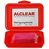 ALCLEAR 721r Clay Car Paint Cleaning Clay Bar Red 200 g - ukpricecomparsion.eu