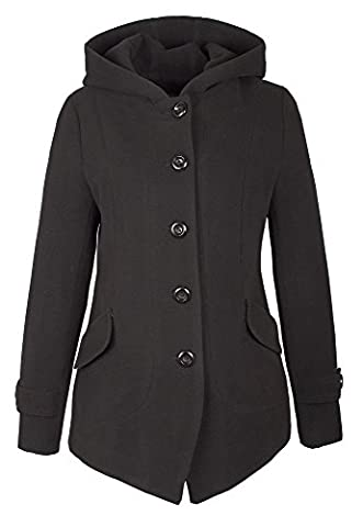A71 Damen Wollmantel Wolljacke