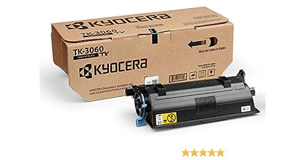 Kyocera Tk 3060 Original Toner Kartusche Schwarz 1t02v30nl0 Hohe Druckkapazität Kompatibel Für Ecosys M3145idn Und Ecosys M3645idn Bürobedarf Schreibwaren