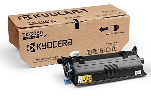 Kyocera TK-3060 Original Toner-Kartusche Schwarz 1T02V30NL0. Hohe Druckkapazität. Kompatibel für ECOSYS M3145idn und ECOSYS M3645idn