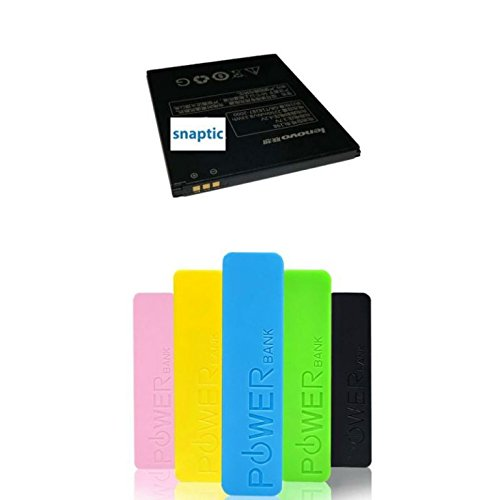 Pack of two Snaptic OEM Lenovo Bl-181 Li Ion Polymer Battery With 2600mah Powerbank