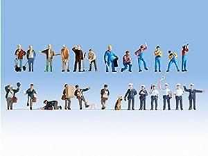 NOCH 16109 Figures Parte y Accesorio de juguet ferroviario - Partes y Accesorios de Juguetes ferroviarios (Figures, Cualquier Marca, 24 Pieza(s), Multicolor, HO (1:87))