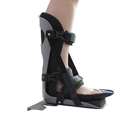 Fuß-nacht Schienen (WY- SPLINTS Sprunggelenk Schiene - Orthese Fuß Bänderriss - Orthotics Corrector Tag und Nacht Fuß - für Plantarfasziitis gegen Fersenschmerzen - für Plantarfasziitis und Achillessehnenentzündung,L)